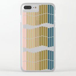 Ombre Trio Clear iPhone Case
