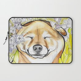 Jay Jay the happy Shiba Laptop Sleeve