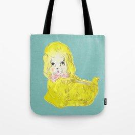 Golden Pup Tote Bag