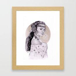 Natalie Portman Padme Amidala Framed Art Print