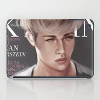 snk iPad Cases featuring SnK Magazine: Jean by putemphasis