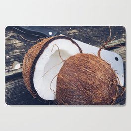 Coconut on the Table Cutting Board