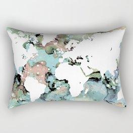 Design 96 world map Rectangular Pillow