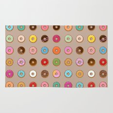 Colorful Doughnuts Rug