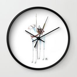 Numero 7 -Cosi che cavalcano Cose - Things that ride Things- NUOVA SERIE - NEW SERIES Wall Clock