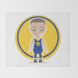 Steph Curry Throw Blanket