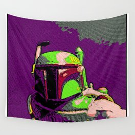 Boba Goes Pop Art Wall Tapestry