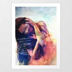 Blindness Art Print