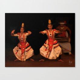 Kandyan Dancers Canvas Print