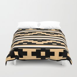 Etnico beige version Duvet Cover