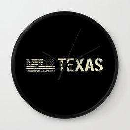 Black Flag: Texas Wall Clock