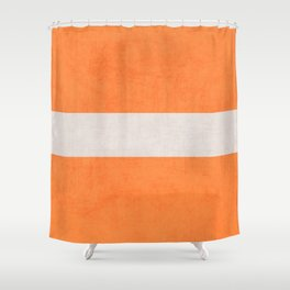 orange classic Shower Curtain