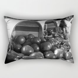 Tomatoes and Peppers Rectangular Pillow