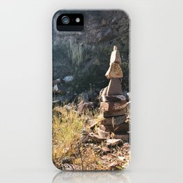Red Mountain Cairn - Glenwood Springs, CO iPhone Case