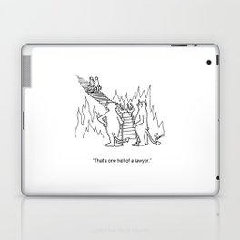 """One Hell Of A Lawyer"" Laptop & iPad Skin"