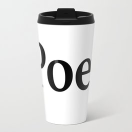 Poet Travel Mug