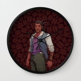 Dream Daddy: Mat Sella Wall Clock