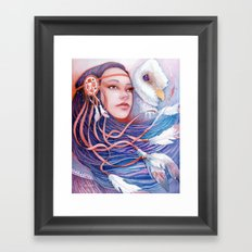 The Dreamwalker's Dawn Framed Art Print