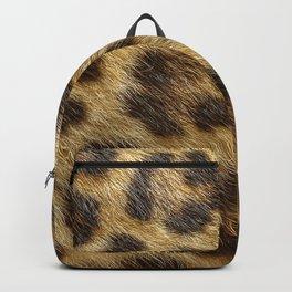 Leopard skin for a fluffy hair lover Backpack