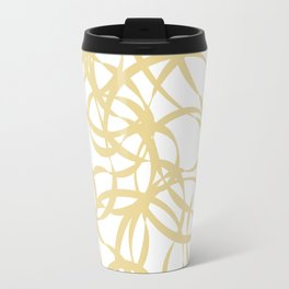 Golden Ribbons - Flow Travel Mug