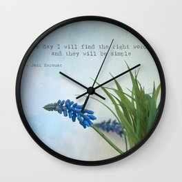 the right words Wall Clock
