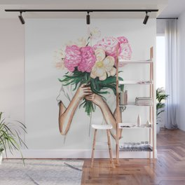 Spring | Botanical Illustration Wall Mural