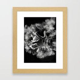 Grips Framed Art Print