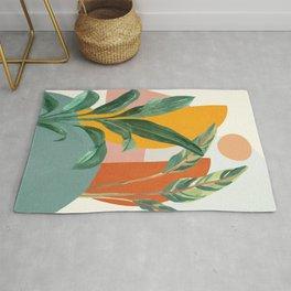 Leaf Design 03 Rug