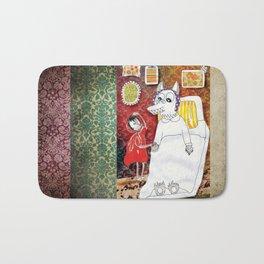 Girl & Wolf Bath Mat