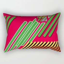 Slicing Pattern—lines and clrs—⁄ ⁄⁄ neå† design!¡!¡!COOOOL!¡!¡!¡! Rectangular Pillow