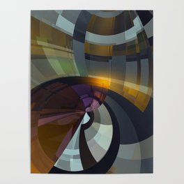 Abstract Composition 26 Poster