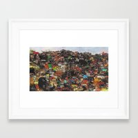 rio Framed Art Prints featuring Rio by Galen Valle