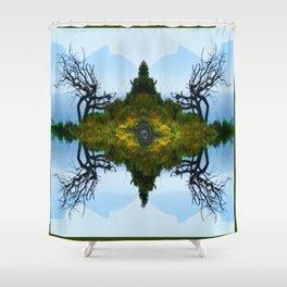 Bay Tree Shower Curtain