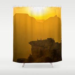 Grand Canyon sunrise Shower Curtain