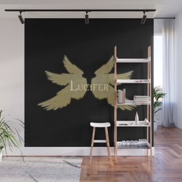 Lucifer with Wings Light Wall Mural