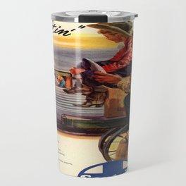 Vintage poster - Gee, that's Eatin' Travel Mug