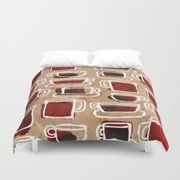 morning pattern Duvet Cover