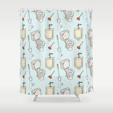 Bathroom Pattern Shower Curtain