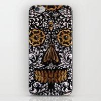 calavera iPhone & iPod Skins featuring CALAVERA by Nick Potash