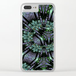 Unbelievable Mirror Mandala 3 Clear iPhone Case