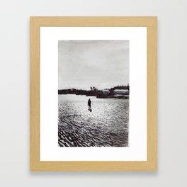 Low Tide, Bay of Fundy Framed Art Print
