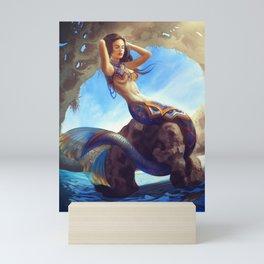 Mexican Mermaid Mini Art Print