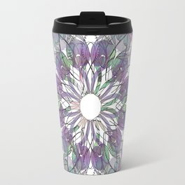 Tangled Thistle Mandala Travel Mug