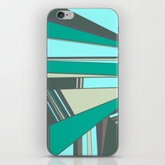 Triangles and Stripes iPhone & iPod Skin