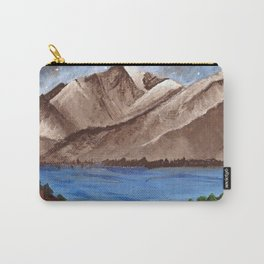 Serene Mountains Carry-All Pouch