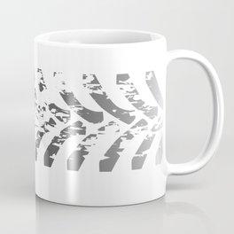 Tractor Tyre Marks Coffee Mug