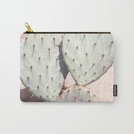 Pear Cactus on Blush Carry-All Pouch