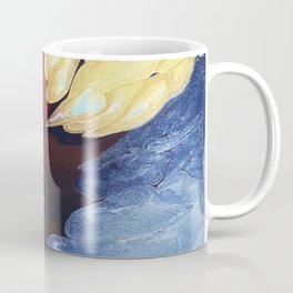 Earthy Fluid Terrain Artwork | Neutral Pallete with Modern Edge Coffee Mug