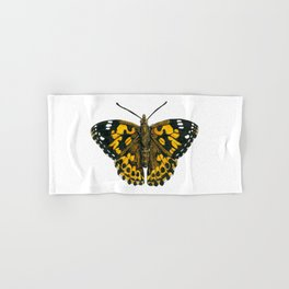 Painted lady butterfly Hand & Bath Towel