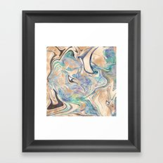 Mermaid 2 Framed Art Print